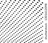 chaotic halftone texture | Shutterstock .eps vector #1301612098