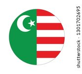 flag of mwali sultanate....   Shutterstock .eps vector #1301702695