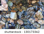 Stones On The River Bed