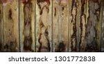 brown wooden texture flooring... | Shutterstock . vector #1301772838