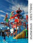 seaside heights  nj  usa august ...   Shutterstock . vector #1301773642