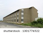 exterior of an abandoned and...   Shutterstock . vector #1301776522