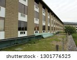 exterior of an abandoned and...   Shutterstock . vector #1301776525