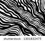 brush grunge pattern. white and ... | Shutterstock .eps vector #1301832475