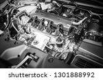 close up detail of new car...   Shutterstock . vector #1301888992