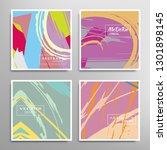 creative artistic backgrounds... | Shutterstock .eps vector #1301898145