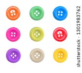 correction of colorful button... | Shutterstock . vector #1301983762