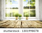 desk of free space and white... | Shutterstock . vector #1301998078