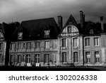typical french architecture | Shutterstock . vector #1302026338