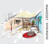 interior | Shutterstock .eps vector #130204946