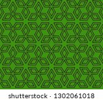 abstract decorative vintage...   Shutterstock .eps vector #1302061018