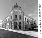 the old building of the teatro... | Shutterstock . vector #130209308