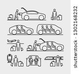 people travel icons. people... | Shutterstock .eps vector #1302168232