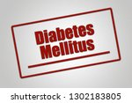 disease   header   diabetes... | Shutterstock . vector #1302183805