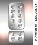 lift  elevator push buttons... | Shutterstock .eps vector #1302208795