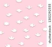 isometric puzzle vector   Shutterstock .eps vector #1302292555