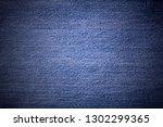texture of light denim closeup   Shutterstock . vector #1302299365