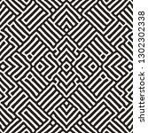 vector seamless ethnic pattern. ...   Shutterstock .eps vector #1302302338
