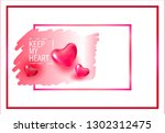 vector picture for valentine's... | Shutterstock .eps vector #1302312475