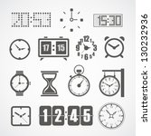 alarm,analogue,arrow,bell,binder,business,button,call,circle,clock,collection,data,design,digital,digits