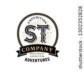 creative initial letter st... | Shutterstock .eps vector #1302352828