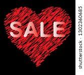 vector image. i like shopping ... | Shutterstock .eps vector #1302360685