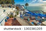 sidi bou said beautiful... | Shutterstock . vector #1302381205