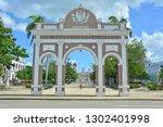 cienfuegos  cuba   february 24  ... | Shutterstock . vector #1302401998