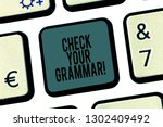 word writing text check your... | Shutterstock . vector #1302409492