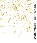 golden on white glossy holiday... | Shutterstock .eps vector #1302426532