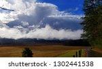 dramatic late autumn cloudscape | Shutterstock . vector #1302441538