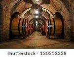 Old Wine Barrels In The Vault...