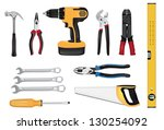 tools vector illustration | Shutterstock .eps vector #130254092