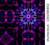 kaleidoscope color pattern....   Shutterstock . vector #1302580852