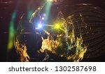 background design abstract... | Shutterstock . vector #1302587698