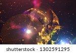 background design abstract... | Shutterstock . vector #1302591295