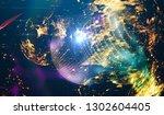 background design abstract... | Shutterstock . vector #1302604405