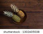 dark still life with fresh... | Shutterstock . vector #1302605038