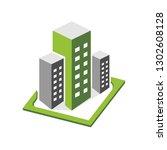 building vector  illustration ... | Shutterstock .eps vector #1302608128
