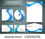professional corporate identity ... | Shutterstock .eps vector #130263296