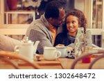 hugging younger daughter.... | Shutterstock . vector #1302648472