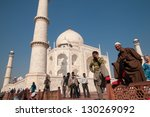 agra  india   february 6 ... | Shutterstock . vector #130269092