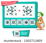 educational game for kids and... | Shutterstock .eps vector #1302711805