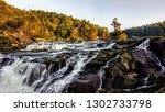 pykara waterfall ooty tamil... | Shutterstock . vector #1302733798