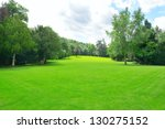 beautiful meadow in the park | Shutterstock . vector #130275152