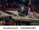 Viking chair and table with...