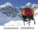 Skiing In High Tatras Mountain...