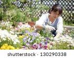 gardening | Shutterstock . vector #130290338