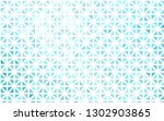 light blue vector pattern in... | Shutterstock .eps vector #1302903865