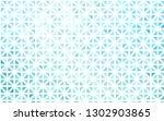 light blue vector pattern in... | Shutterstock .eps vector #1302903865